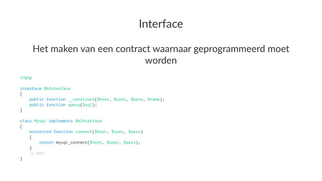 Interface Het$maken$van$een$contract$waarnaar$g...