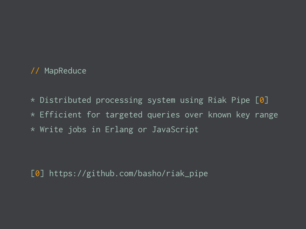 // MapReduce * Distributed processing system us...