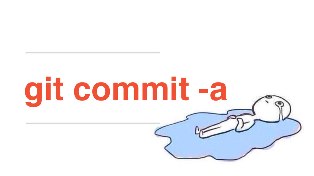 git commit -a