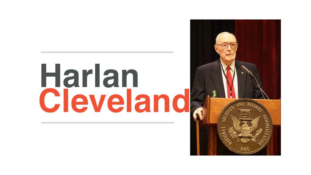 Cleveland Harlan