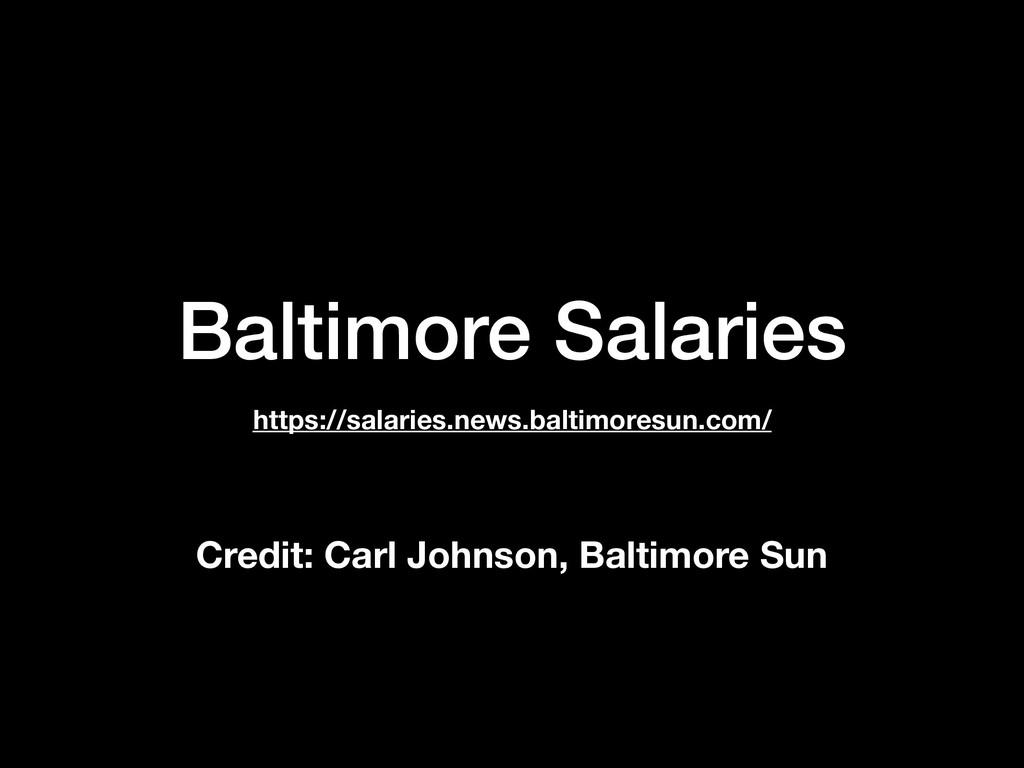 Baltimore Salaries https://salaries.news.baltim...