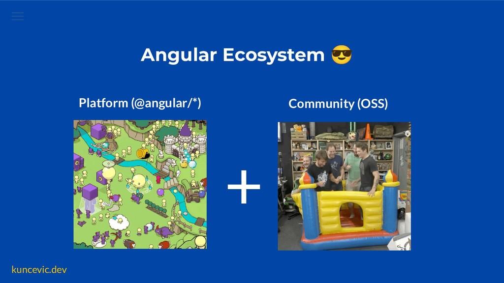 kuncevic.dev Angular Ecosystem 😎 Platform (@ang...