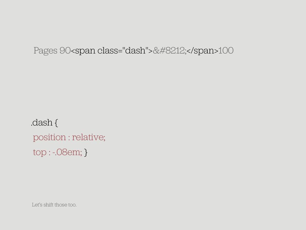 "Pages 90<span class=""dash"">&#8212;</span>100 .d..."