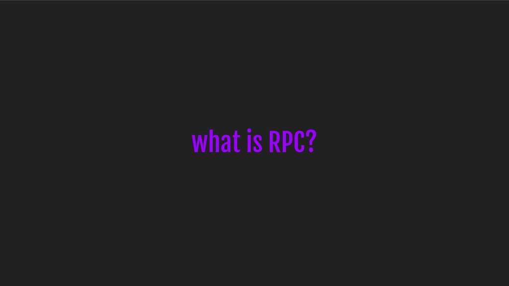 what is RPC?