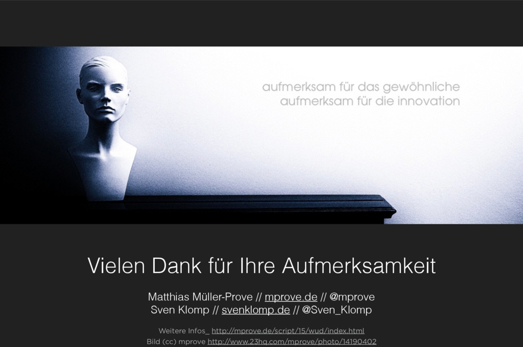 Vielen Dank für Ihre Aufmerksamkeit Matthias Mü...