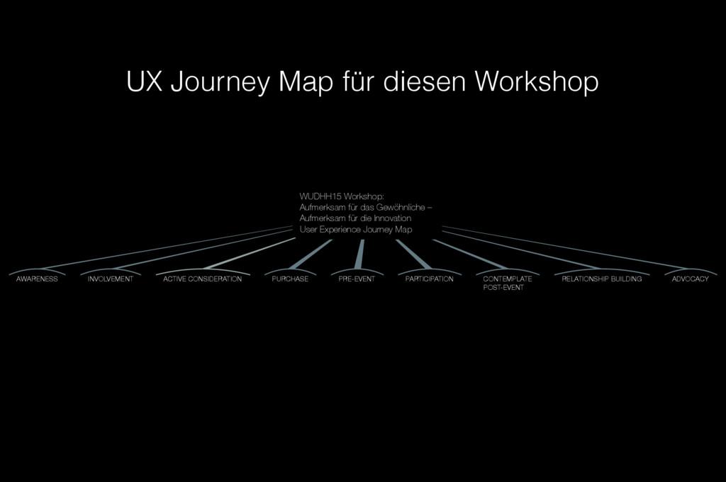 WUDHH15 Workshop: Aufmerksam für das Gewöhnlich...