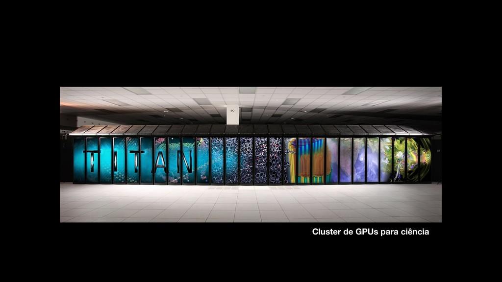 Cluster de GPUs para ciência