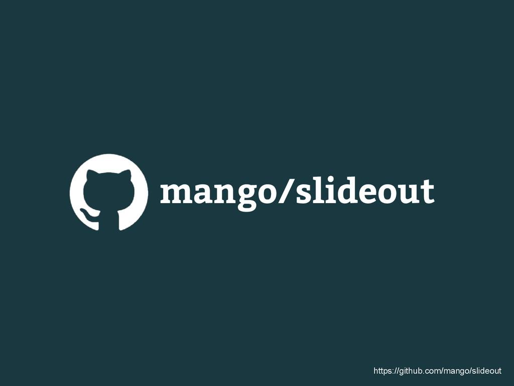 mango/slideout https://github.com/mango/slideout