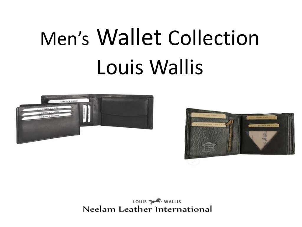 Men's Wallet Collection Louis Wallis