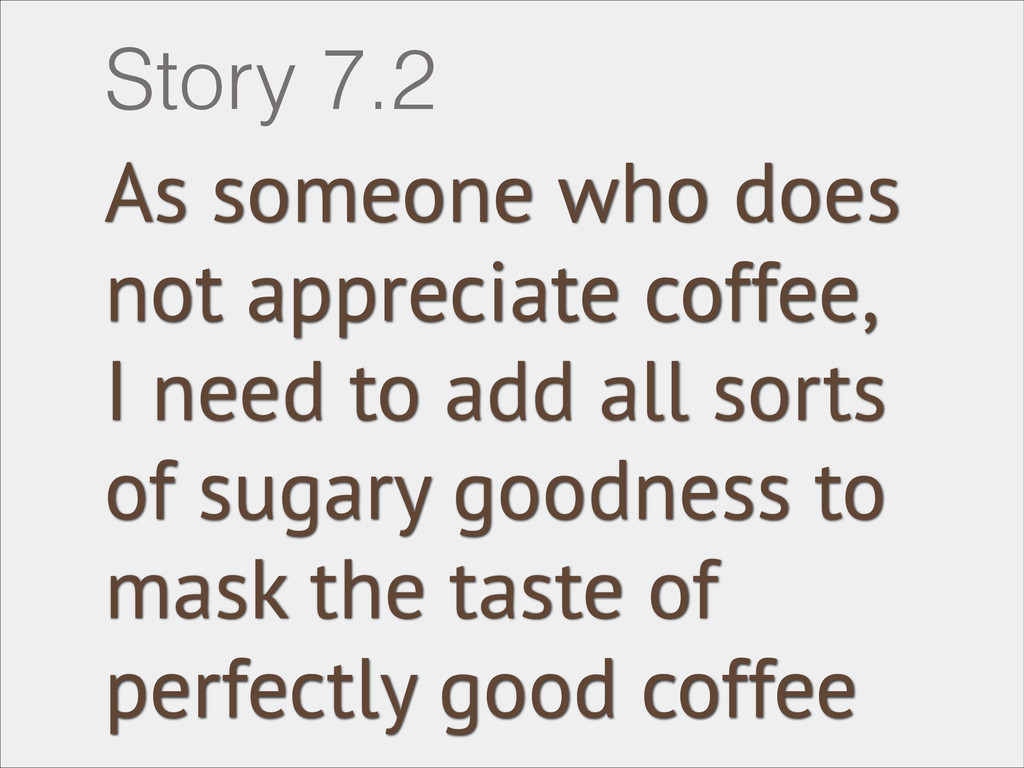 As someone who does not appreciate coffee, I ne...