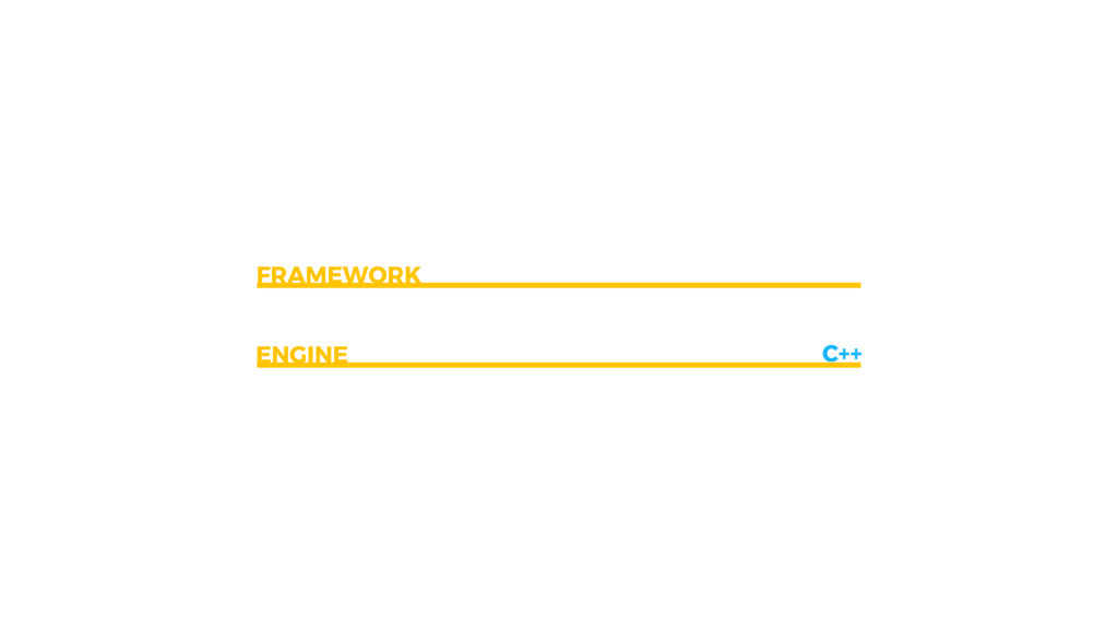 C++ FRAMEWORK ENGINE