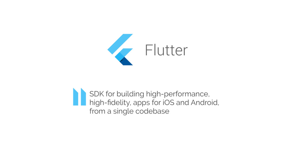 SDK for building high-performance, high-fidelity...