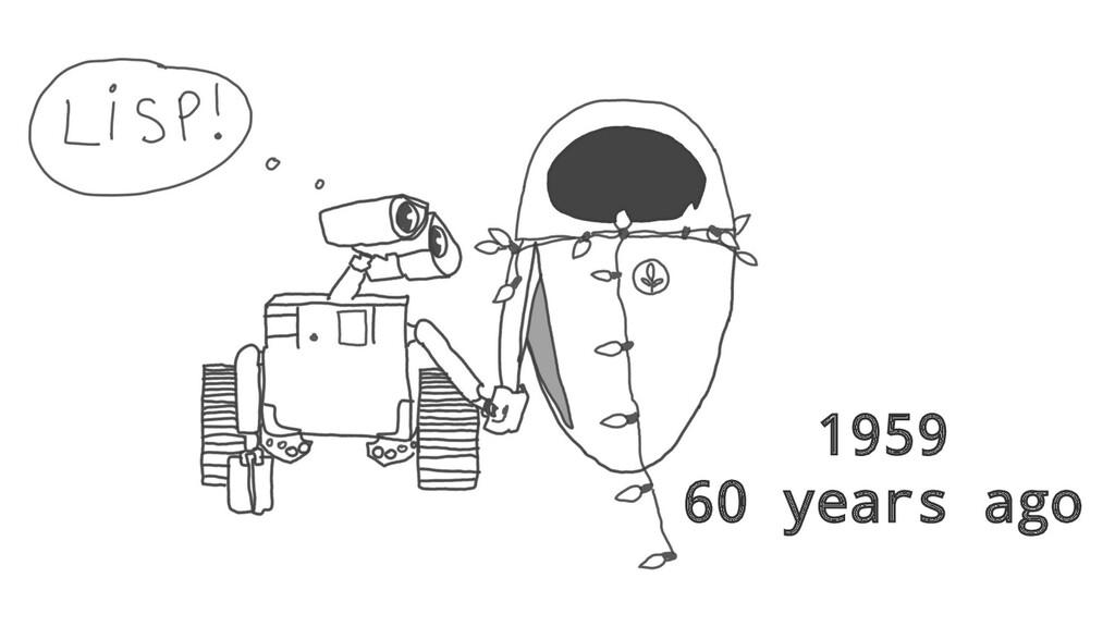 1959 60 years ago