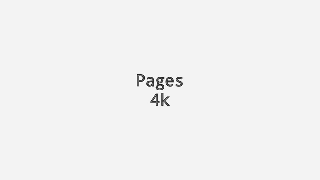Pages 4k