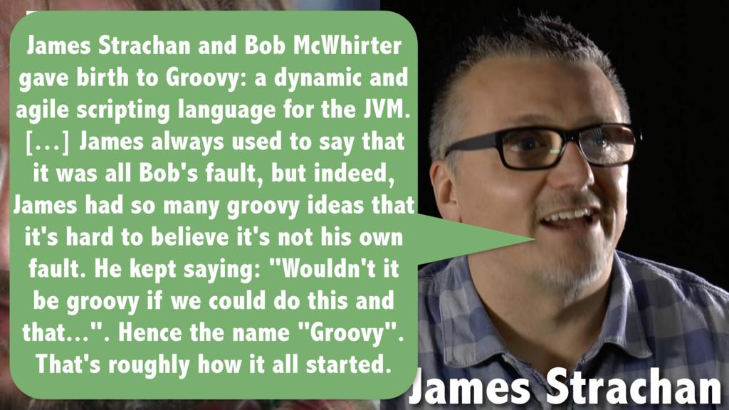 Bob McWhirter James Strachan James Strachan and...