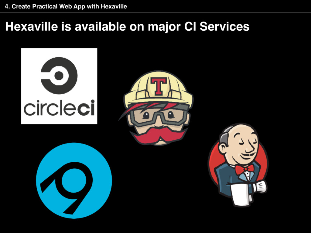 Hexaville is available on major CI Services 4. ...