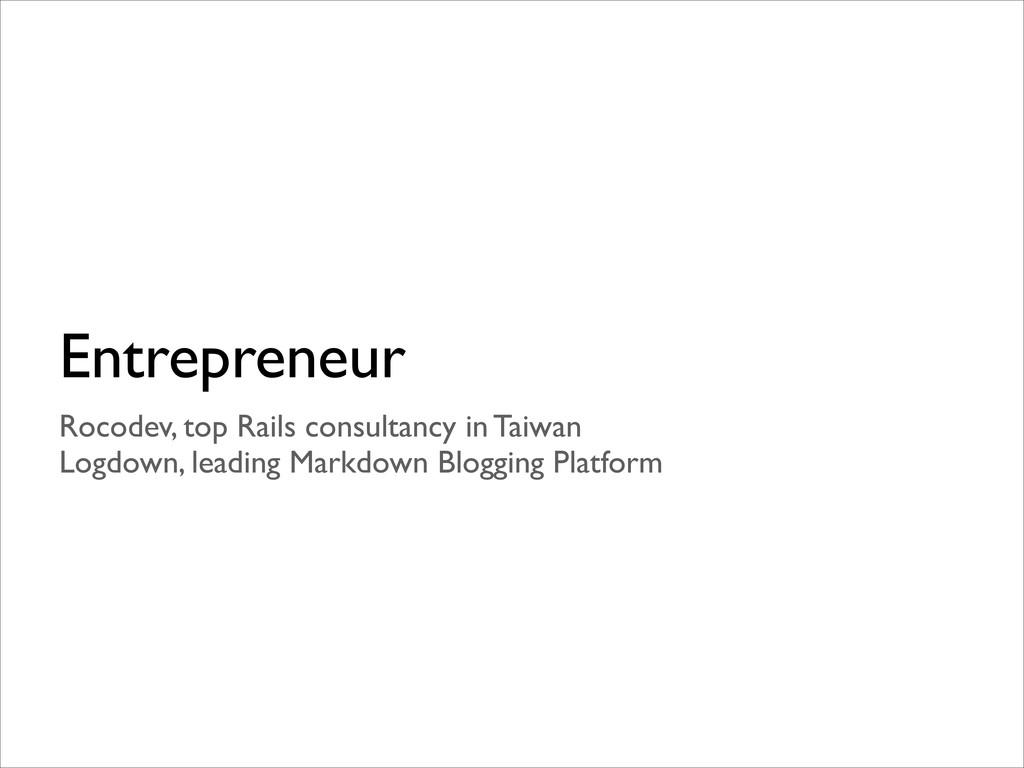 Entrepreneur Rocodev, top Rails consultancy in ...