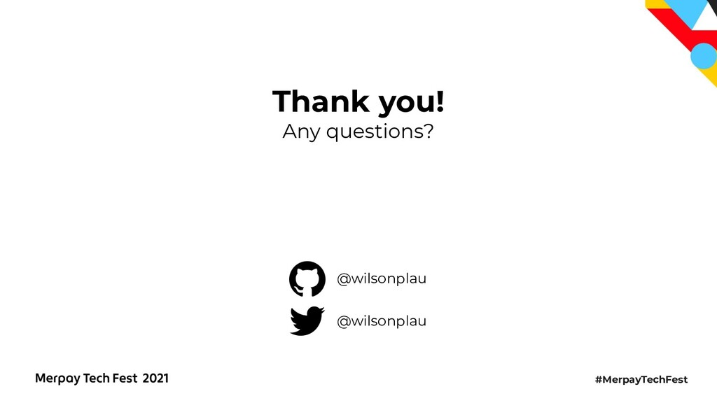 #MerpayTechFest Thank you! Any questions? @wils...