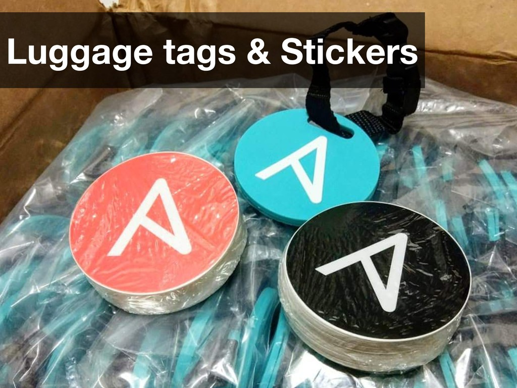 Luggage tags & Stickers
