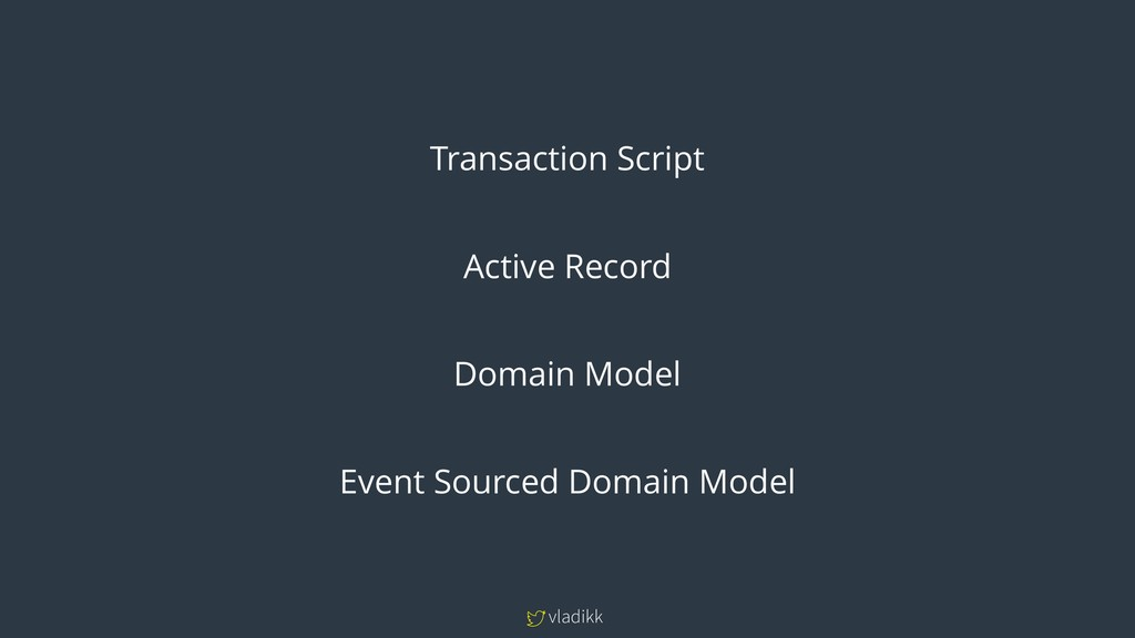 vladikk Transaction Script Active Record Domain...