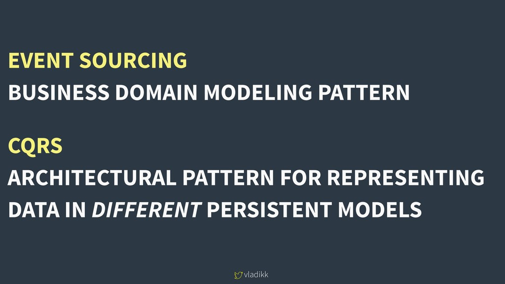 vladikk EVENT SOURCING BUSINESS DOMAIN MODELING...