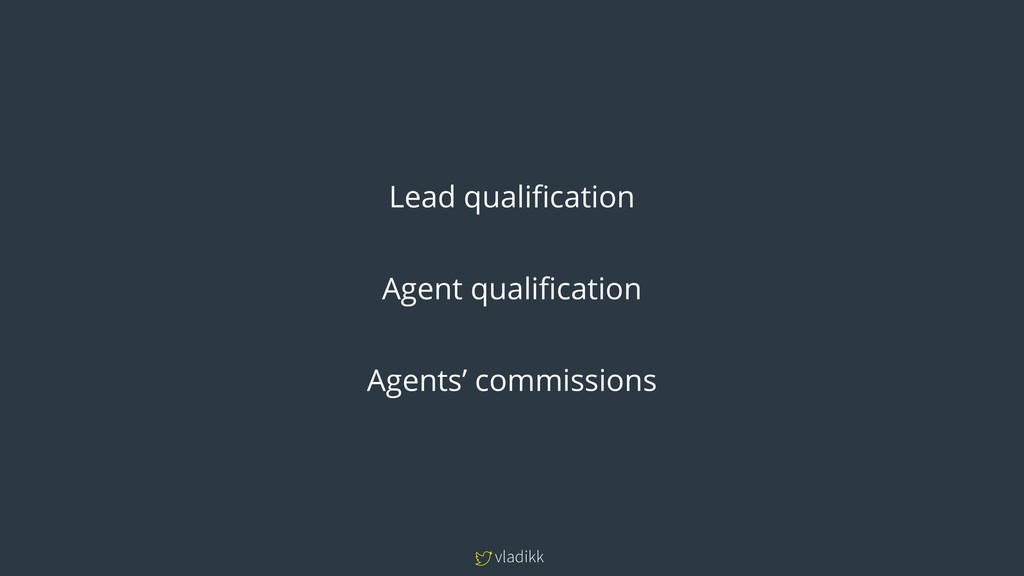 vladikk Lead qualification Agent qualification ...