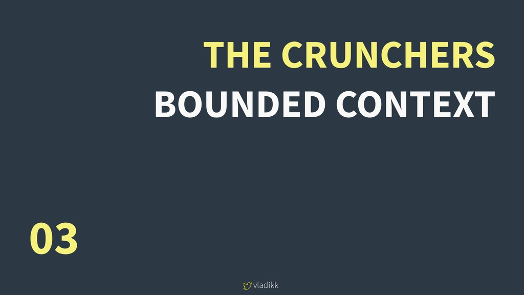 vladikk THE CRUNCHERS BOUNDED CONTEXT 03