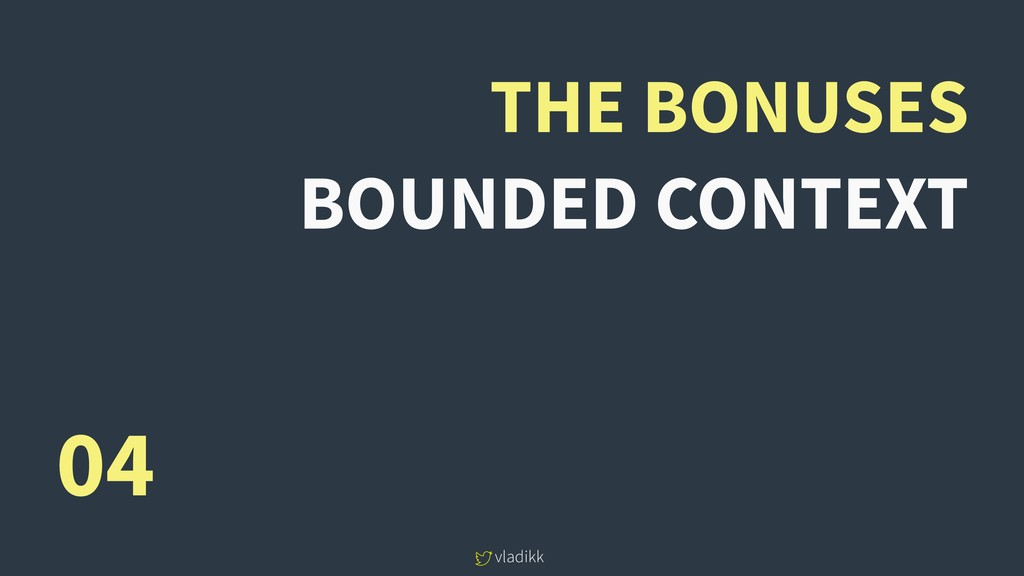 vladikk THE BONUSES BOUNDED CONTEXT 04
