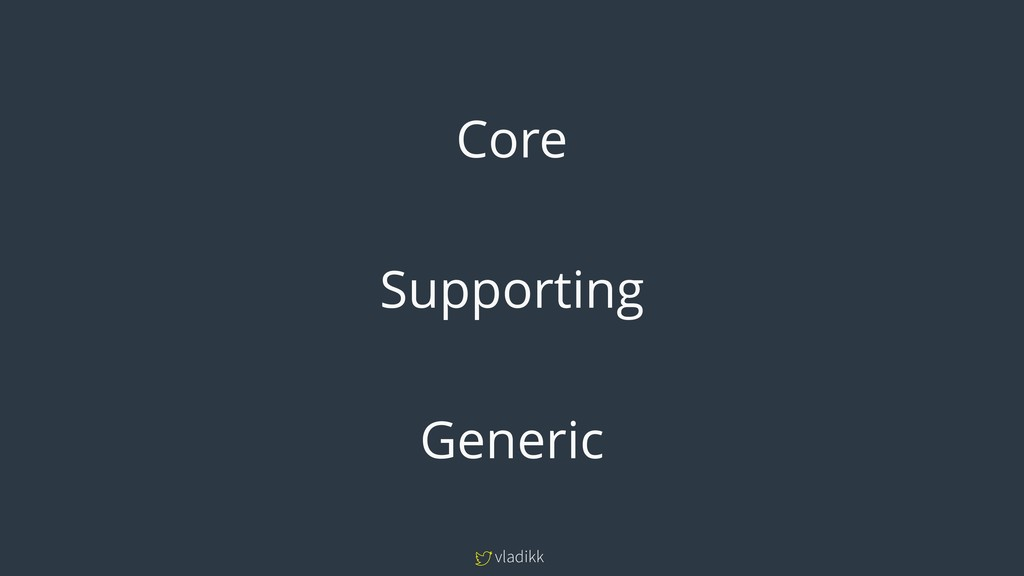 vladikk Core Supporting Generic