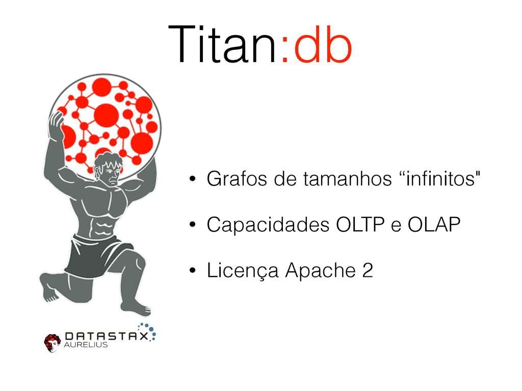 """Titan:db • Grafos de tamanhos """"infinitos"""" • Capa..."""