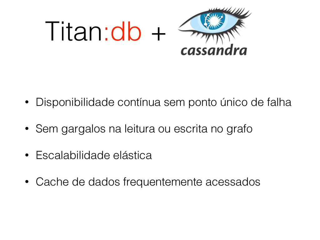 Titan:db + • Disponibilidade contínua sem ponto...