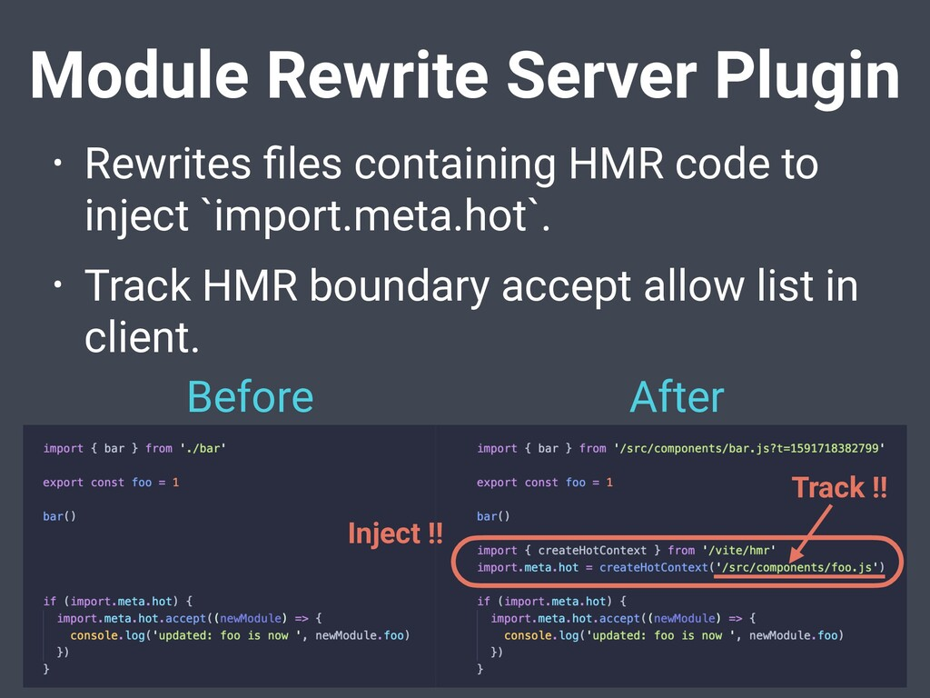 Module Rewrite Server Plugin • Rewrites files co...