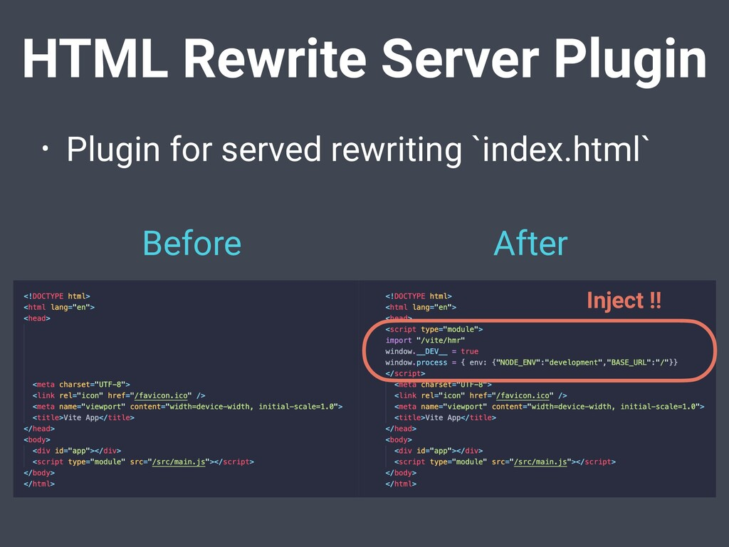 HTML Rewrite Server Plugin • Plugin for served ...