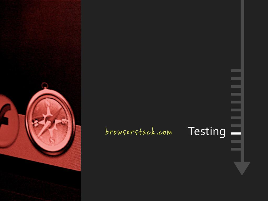 browserstack.com Testing