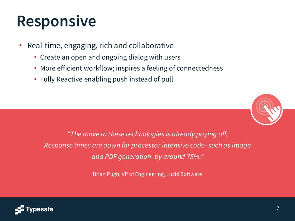 Responsive • Real-time, engaging, rich and coll...