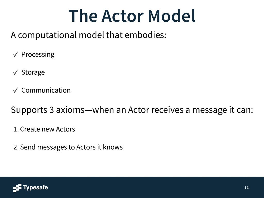 11 A computational model that embodies: ✓ Proce...