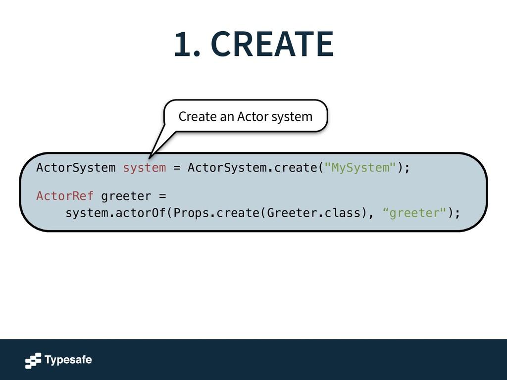 "ActorSystem system = ActorSystem.create(""MySyst..."