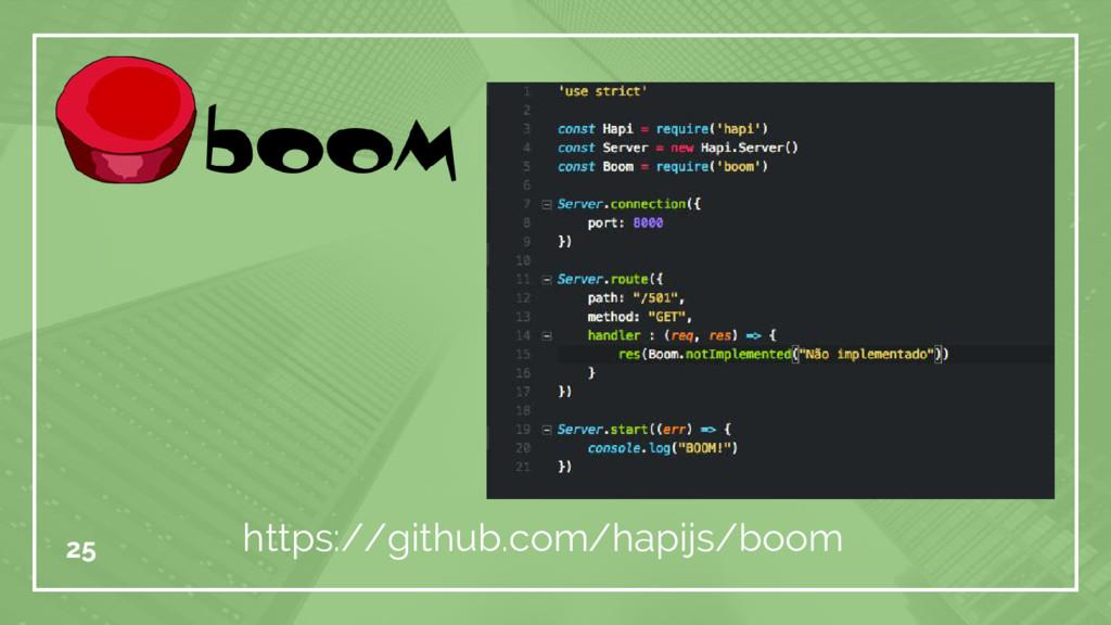 25 https://github.com/hapijs/boom