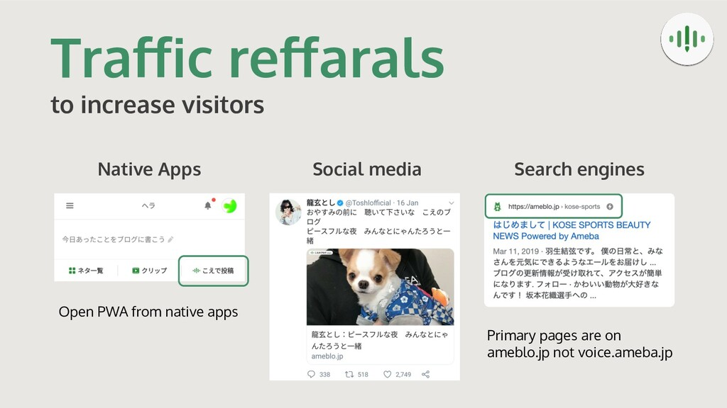 Traffic reffarals to increase visitors Social med...