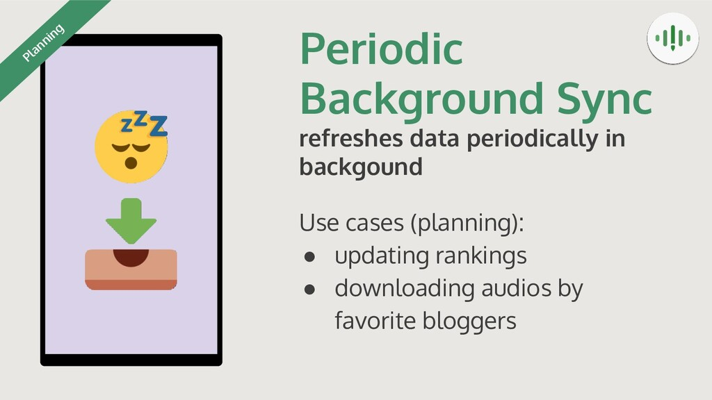 Periodic Background Sync refreshes data periodi...