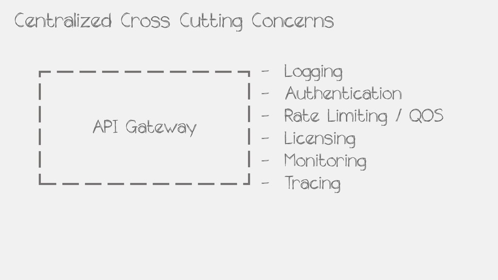 Centralized Cross Cutting Concerns API Gateway ...
