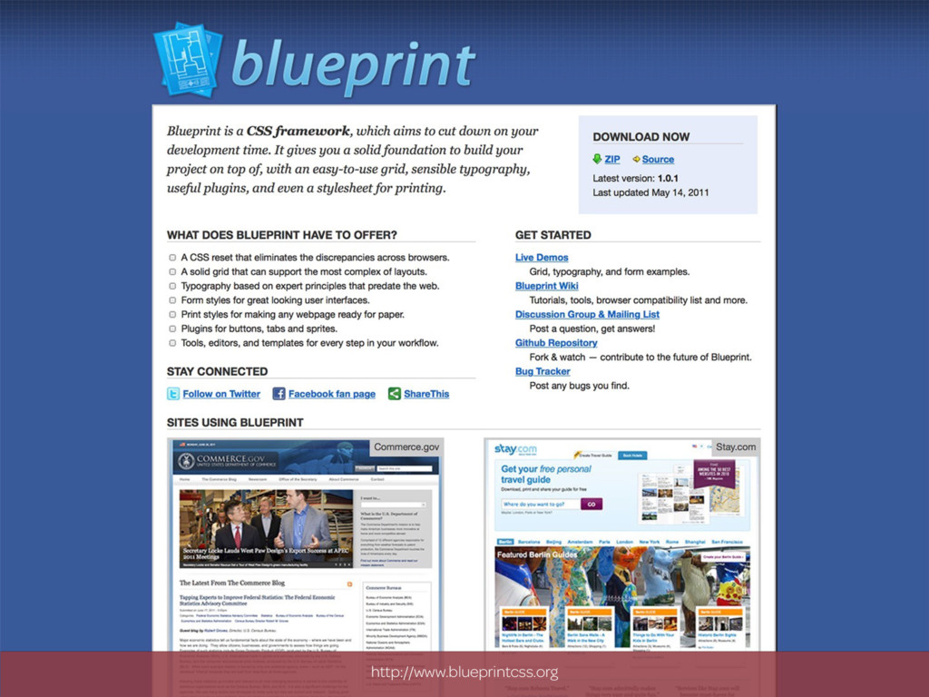 http://www.blueprintcss.org