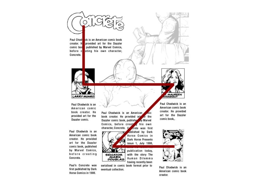 Paul Chadwick is an American comic book creator...