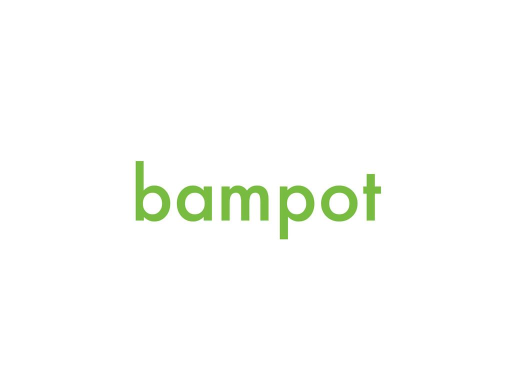bampot