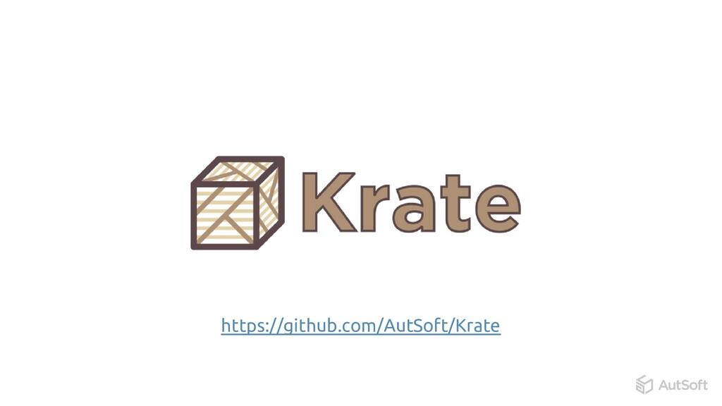 https://github.com/AutSoft/Krate
