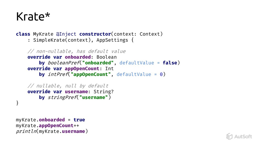 class MyKrate @Inject constructor(context: Cont...