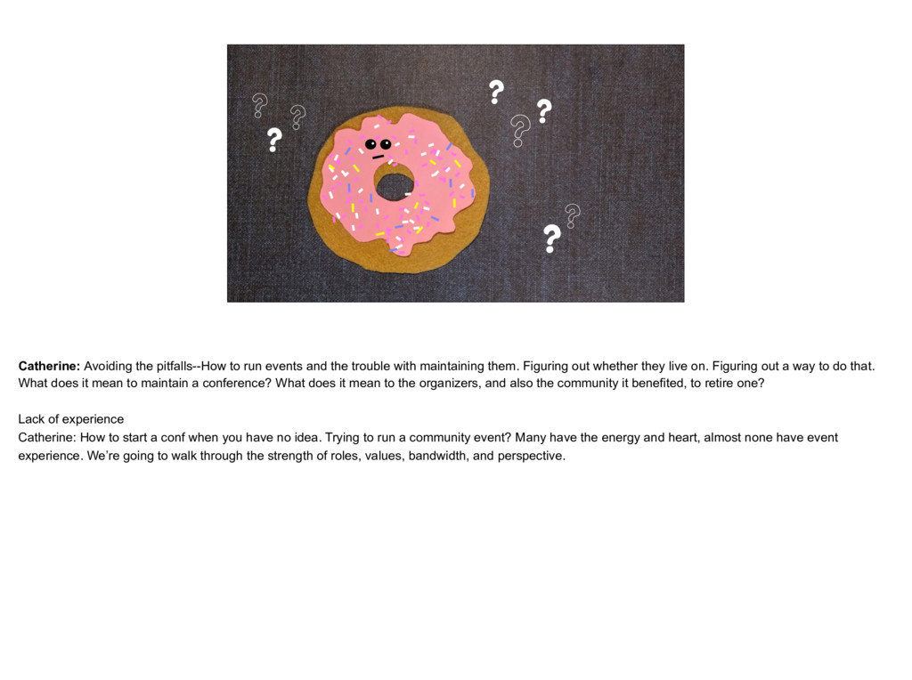 placeholder The Donut Catherine, thinking face ...