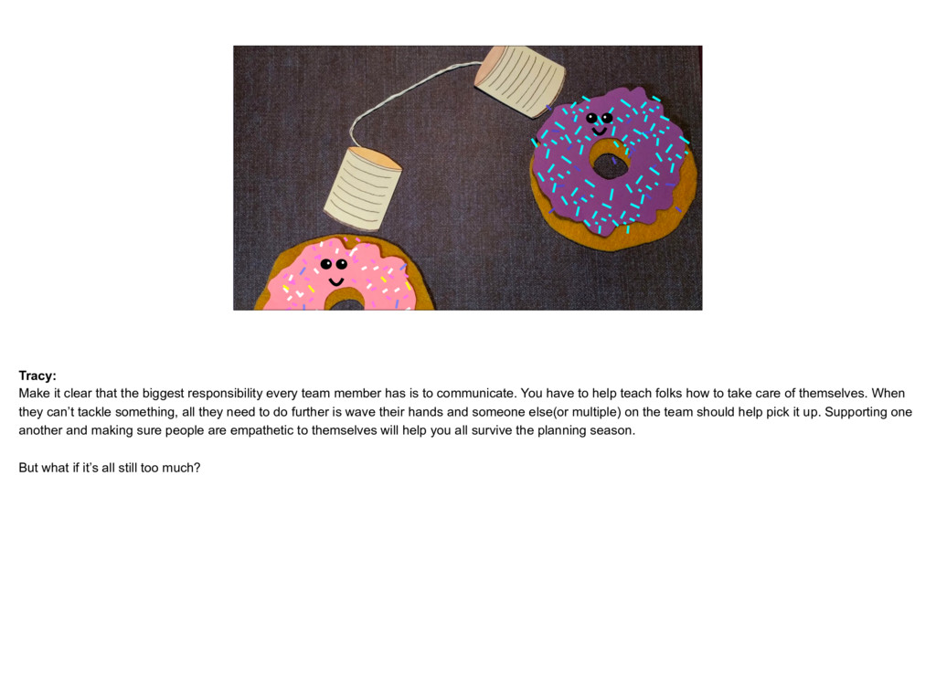 placeholder Donut Catherine and Tracy donuts ta...