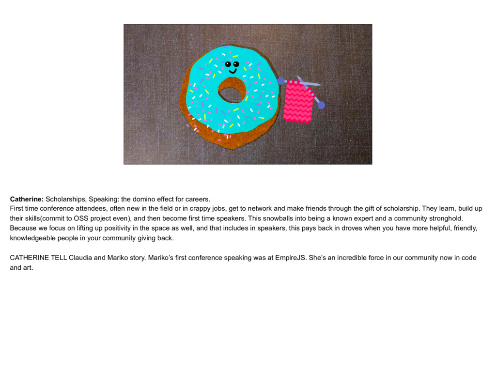 placeholder Donut that is knitting Catherine: S...