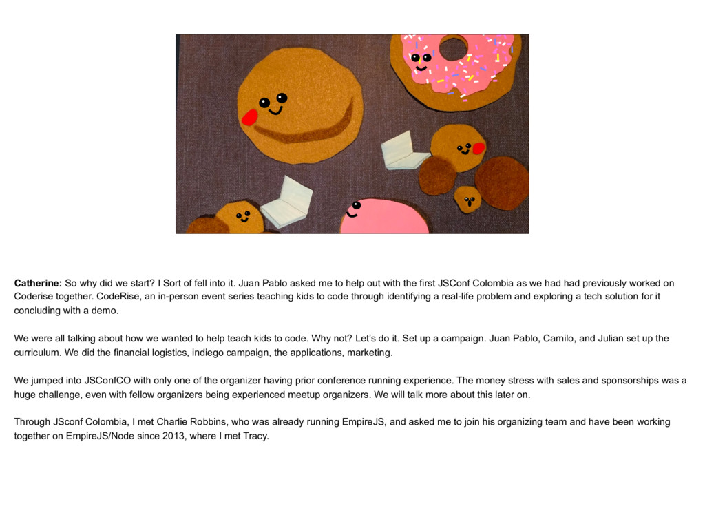 placeholder The Catherine as Donut, with other ...